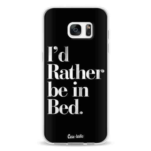 Casetastic Softcover Samsung Galaxy S7 Edge - Rather Be In Bed
