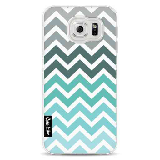 Casetastic Softcover Samsung Galaxy S6 - Tiffany Fade Chevron