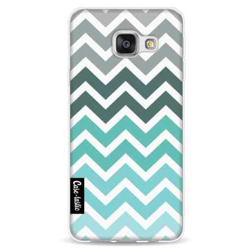 Casetastic Softcover Samsung Galaxy A3 (2016) - Tiffany Fade Chevron