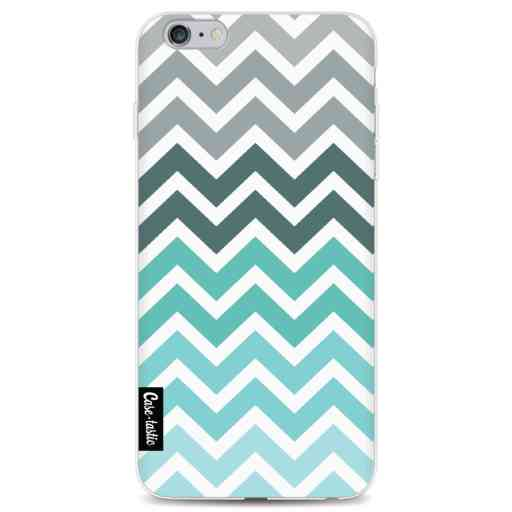 Casetastic Softcover Apple iPhone 6 Plus / 6s Plus - Tiffany Fade Chevron