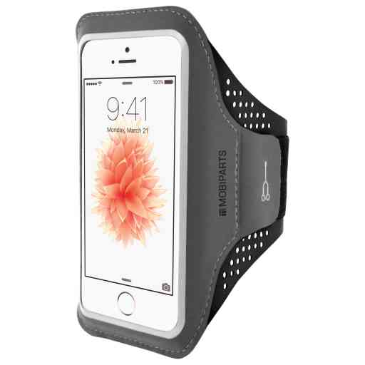 Casetastic Comfort Fit Sport Armband Apple iPhone 5/5S/SE Black