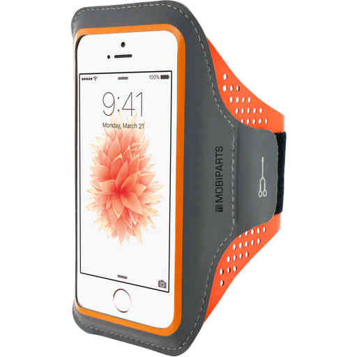 Casetastic Comfort Fit Sport Armband Apple iPhone 5/5S/SE Neon Orange