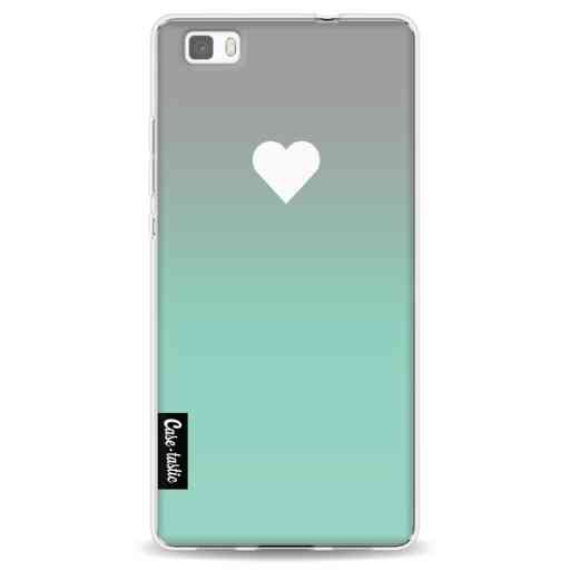 Casetastic Softcover Huawei P8 Lite - Tiffany Heart Fade