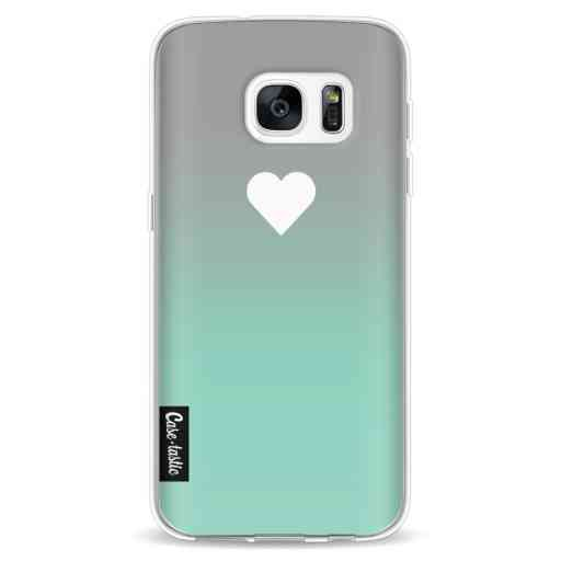 Casetastic Softcover Samsung Galaxy S7 - Tiffany Heart Fade
