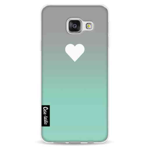 Casetastic Softcover Samsung Galaxy A3 (2016) - Tiffany Heart Fade