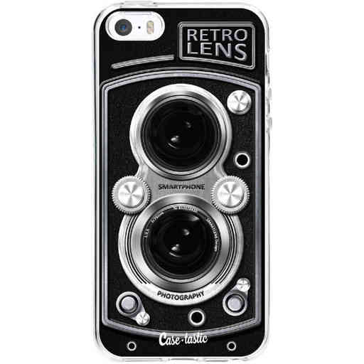 Casetastic Softcover Apple iPhone 5 / 5s / SE - Camera Retro Lens