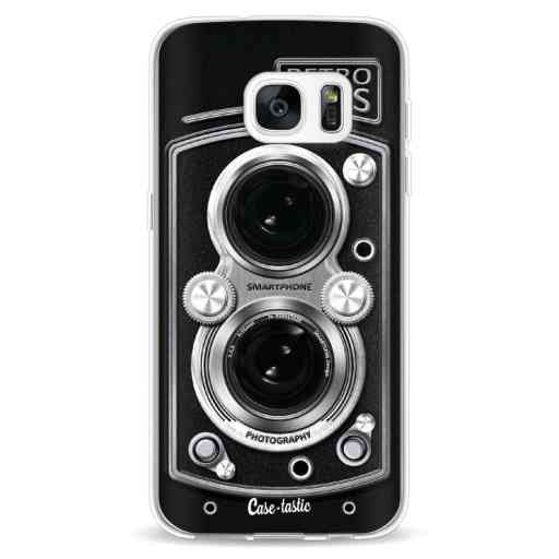 Casetastic Softcover Samsung Galaxy S7 - Camera Retro Lens