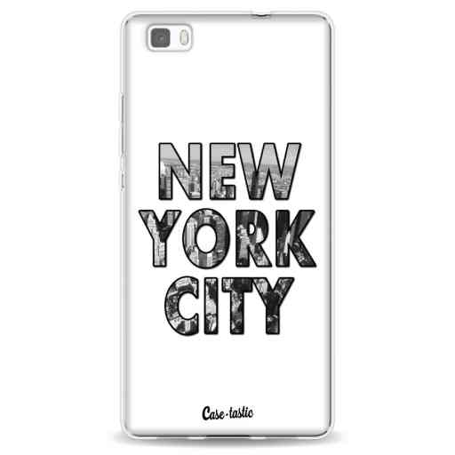Casetastic Softcover Huawei P8 Lite - New York City