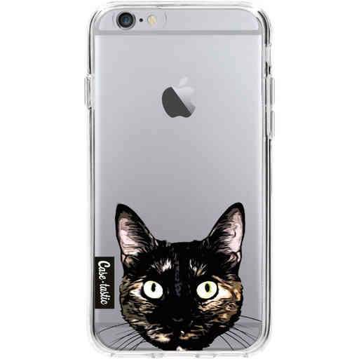 Casetastic Softcover Apple iPhone 6 / 6s  - Peeking Kitty