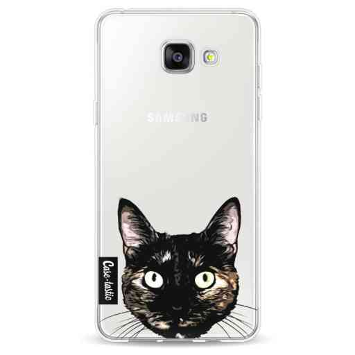 Casetastic Softcover Samsung Galaxy A5 (2016) - Peeking Kitty