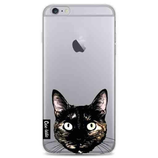 Casetastic Softcover Apple iPhone 6 Plus / 6s Plus - Peeking Kitty