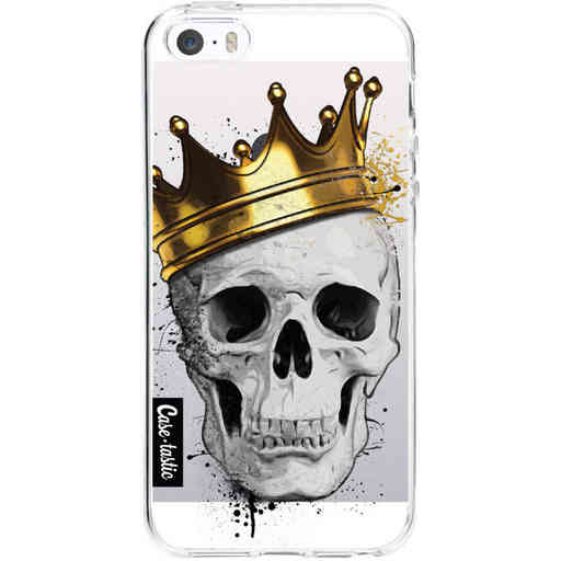 Casetastic Softcover Apple iPhone 5 / 5s / SE - Royal Skull