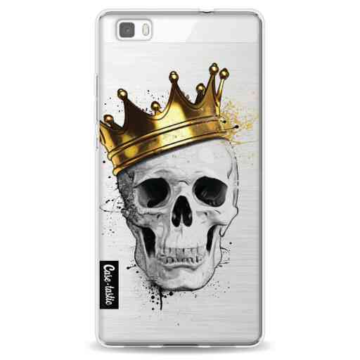 Casetastic Softcover Huawei P8 Lite (2015) - Royal Skull
