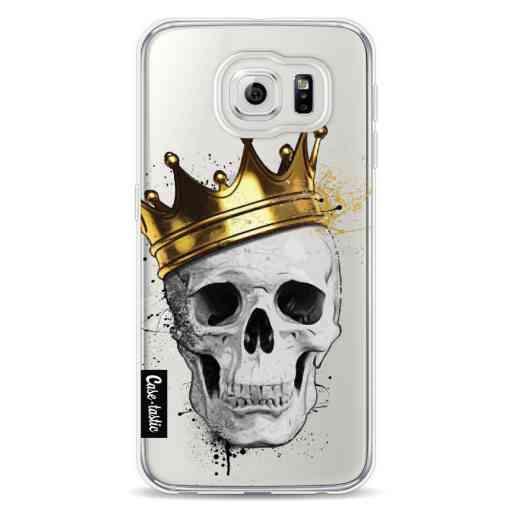 Casetastic Softcover Samsung Galaxy S6 - Royal Skull