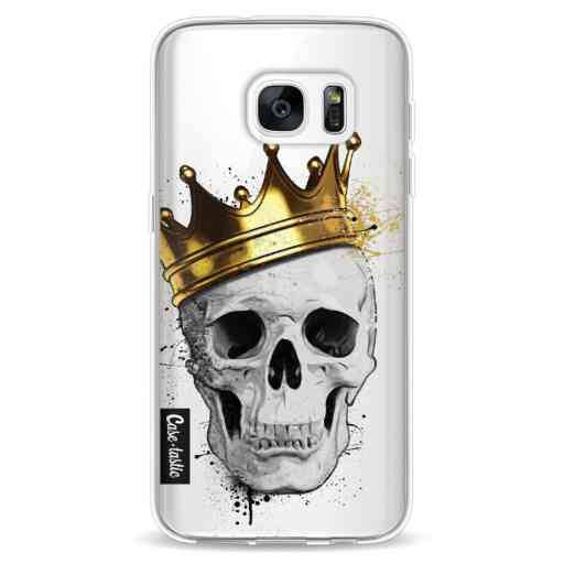 Casetastic Softcover Samsung Galaxy S7 - Royal Skull