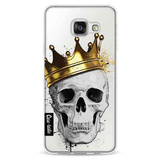 Casetastic Softcover Samsung Galaxy A3 (2016) - Royal Skull