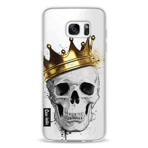 Casetastic Softcover Samsung Galaxy S7 Edge - Royal Skull