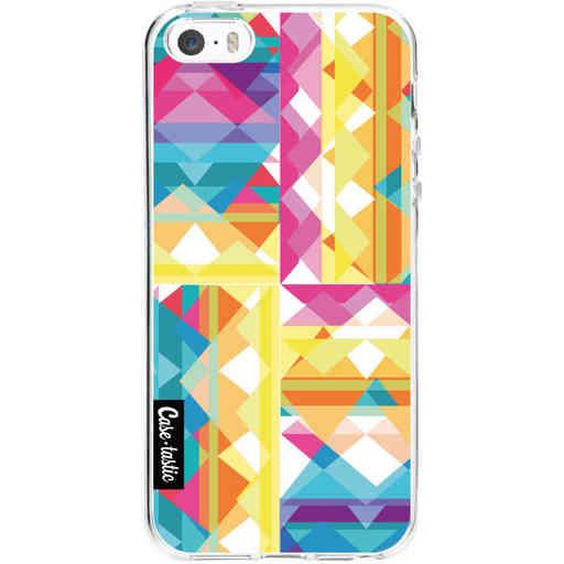 Casetastic Softcover Apple iPhone 5 / 5s / SE - Triangle Checker