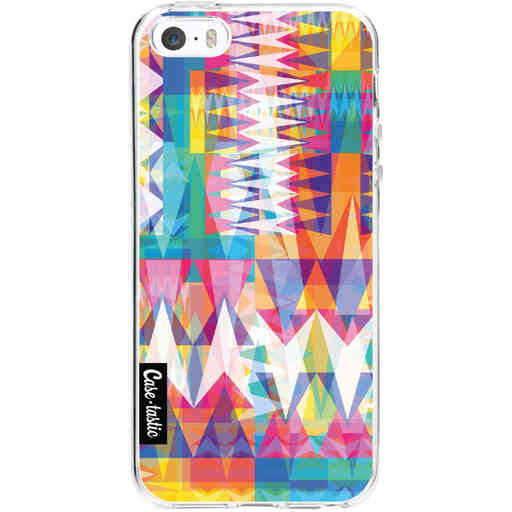 Casetastic Softcover Apple iPhone 5 / 5s / SE - Triangle Collage