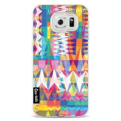 Casetastic Softcover Samsung Galaxy S6 - Triangle Collage