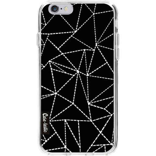 Casetastic Softcover Apple iPhone 6 / 6s  - Abstract Dotted Lines Black