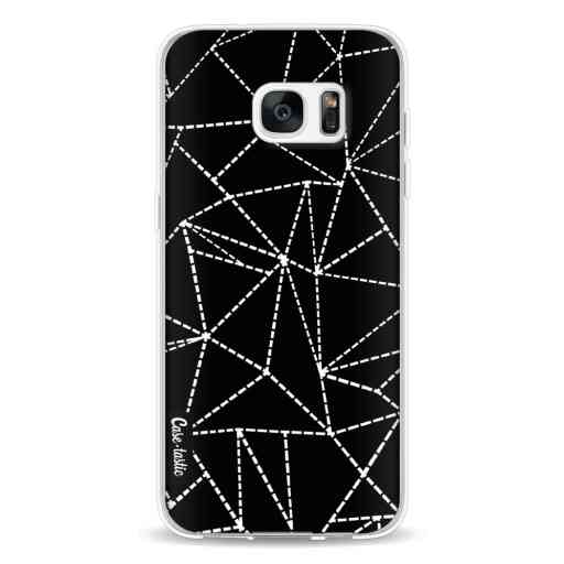 Casetastic Softcover Samsung Galaxy S7 Edge - Abstract Dotted Lines Black