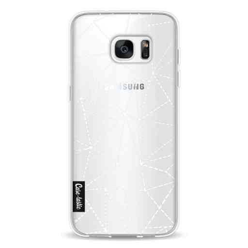 Casetastic Softcover Samsung Galaxy S7 Edge - Abstract Dotted Lines Transparent