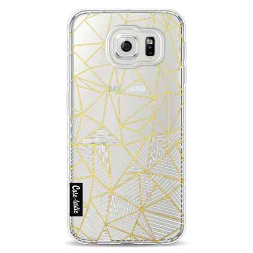 Casetastic Softcover Samsung Galaxy S6 - Abstraction Half Half Transparent