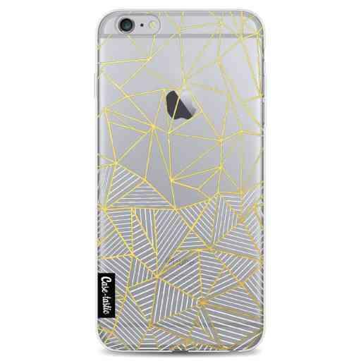 Casetastic Softcover Apple iPhone 6 Plus / 6s Plus - Abstraction Half Half Transparent