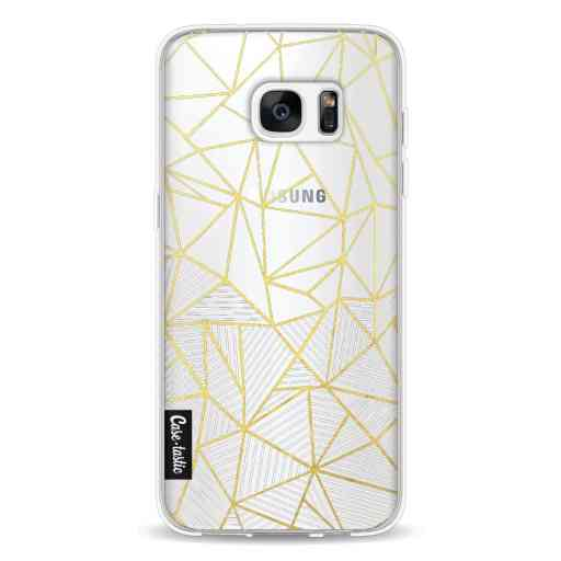 Casetastic Softcover Samsung Galaxy S7 Edge - Abstraction Half Half Transparent