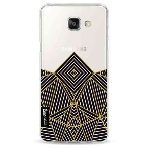 Casetastic Softcover Samsung Galaxy A5 (2016) - Abstraction Half Transparent
