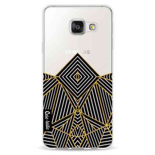 Casetastic Softcover Samsung Galaxy A3 (2016) - Abstraction Half Transparent