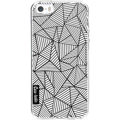 Casetastic Softcover Apple iPhone 5 / 5s / SE - Abstraction Lines