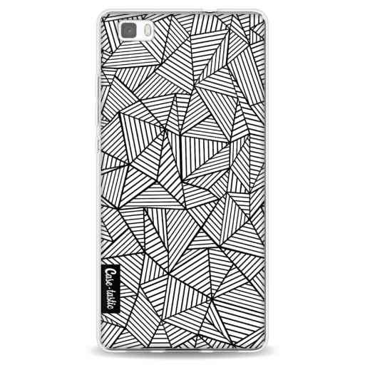 Casetastic Softcover Huawei P8 Lite (2015) - Abstraction Lines