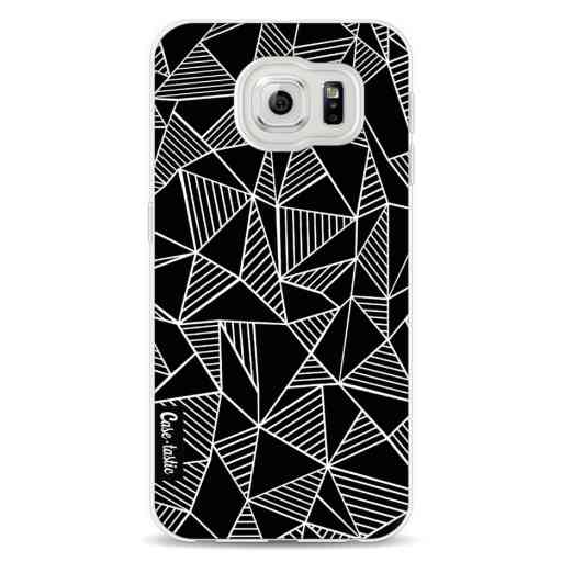 Casetastic Softcover Samsung Galaxy S6 - Abstraction Lines Black