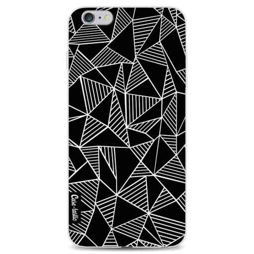 Casetastic Softcover Apple iPhone 6 Plus / 6s Plus - Abstraction Lines Black