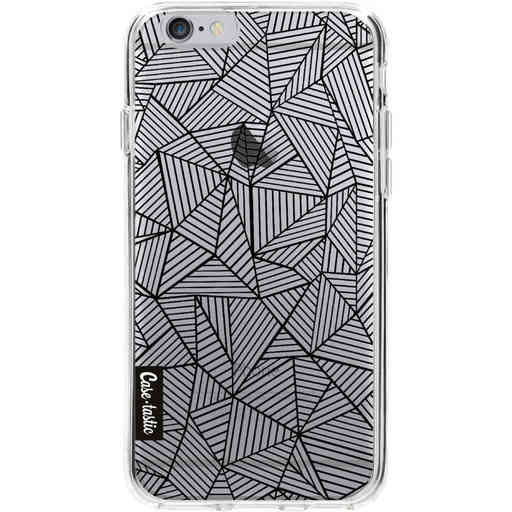 Casetastic Softcover Apple iPhone 6 / 6s  - Abstraction Lines Transparent