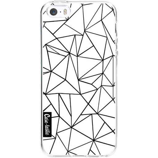 Casetastic Softcover Apple iPhone 5 / 5s / SE - Abstraction Outline