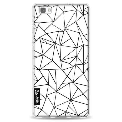 Casetastic Softcover Huawei P8 Lite - Abstraction Outline