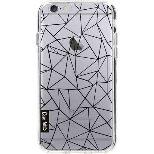 Casetastic Softcover Apple iPhone 6 / 6s  - Abstraction Outline Black Transparent