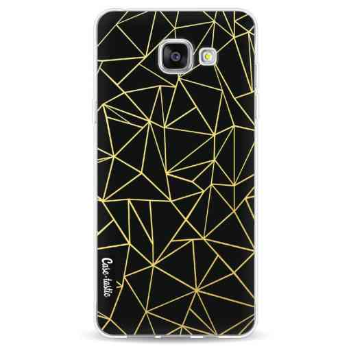 Casetastic Softcover Samsung Galaxy A5 (2016) - Abstraction Outline Gold