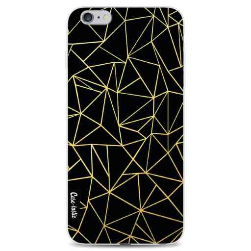 Casetastic Softcover Apple iPhone 6 Plus / 6s Plus - Abstraction Outline Gold