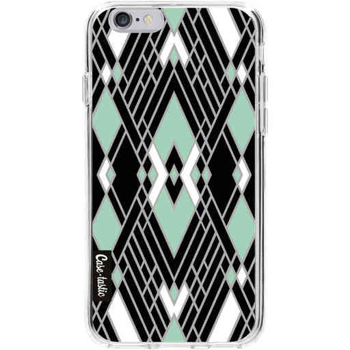 Casetastic Softcover Apple iPhone 6 / 6s  - Art Deco Mint