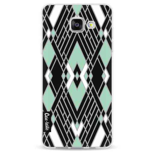 Casetastic Softcover Samsung Galaxy A5 (2016) - Art Deco Mint