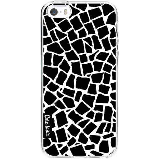 Casetastic Softcover Apple iPhone 5 / 5s / SE - British Mosaic Black