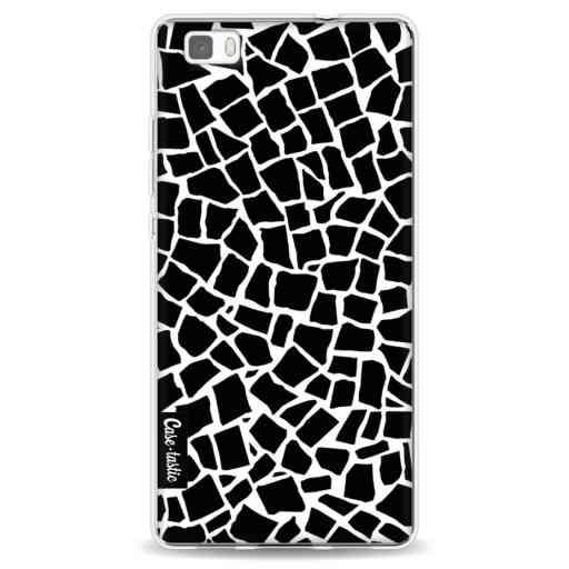 Casetastic Softcover Huawei P8 Lite - British Mosaic Black