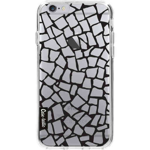 Casetastic Softcover Apple iPhone 6 / 6s  - British Mosaic Black Transparent