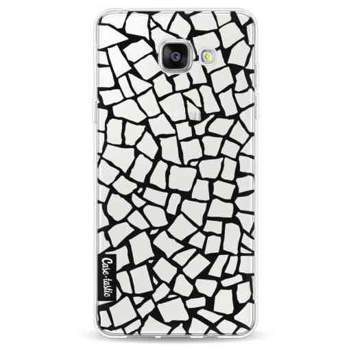 Casetastic Softcover Samsung Galaxy A5 (2016) - British Mosaic Black Transparent