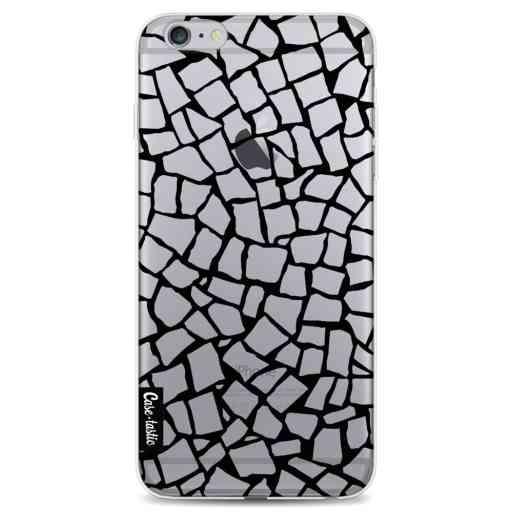 Casetastic Softcover Apple iPhone 6 Plus / 6s Plus - British Mosaic Black Transparent