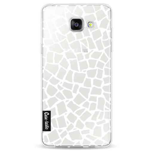 Casetastic Softcover Samsung Galaxy A5 (2016) - British Mosaic White Transparent